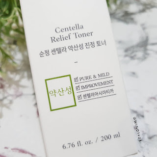 Review Etude House Soon Jung Centella Relief Toner