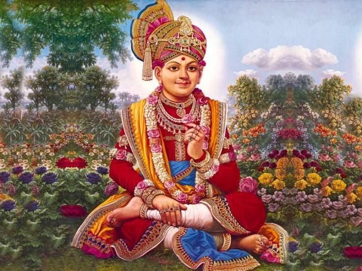 Baps Ghanshyam Maharaj Hd Wallpaper Shree Swaminarayan Swaminarayan Bhagvan Ghanshyam Pande