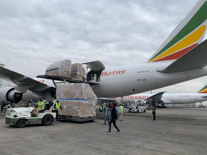 Shipment of Donated COVID-19 Medical supplies for Africa from Jack Ma Foundation and Alibaba Foundation Arrives in Ethiopia