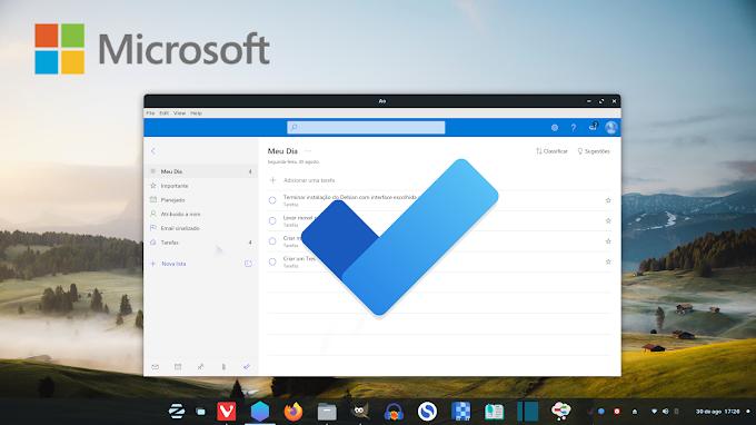 Usando o Microsoft To-Do no Linux com um cliente open source  chamado AO