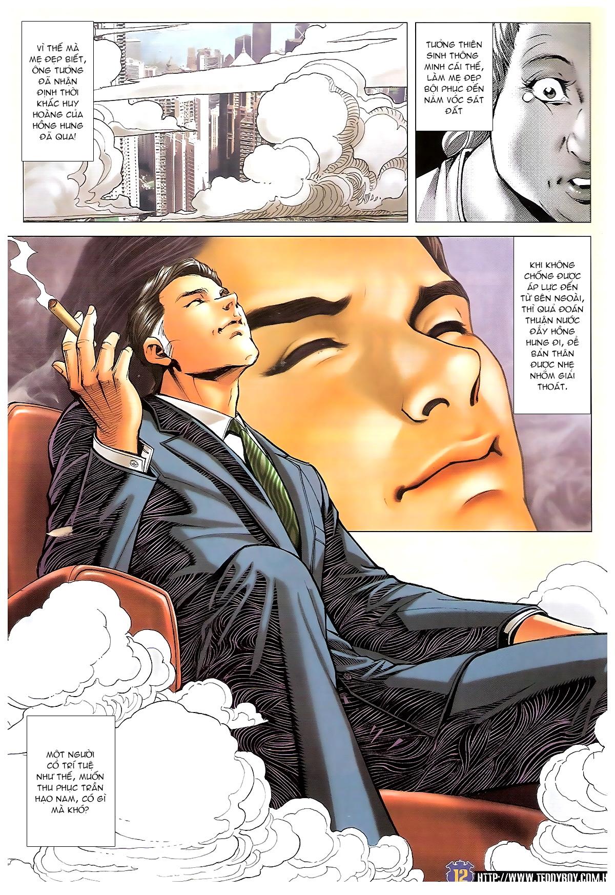 Người Trong Giang Hồ chapter 1642: anh hùng khí đoản trang 11