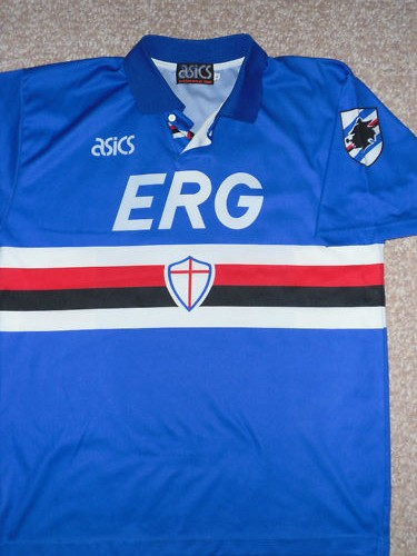 c7165b5a915458 Sampdoria Home 1992-94 | footyshirtsuk