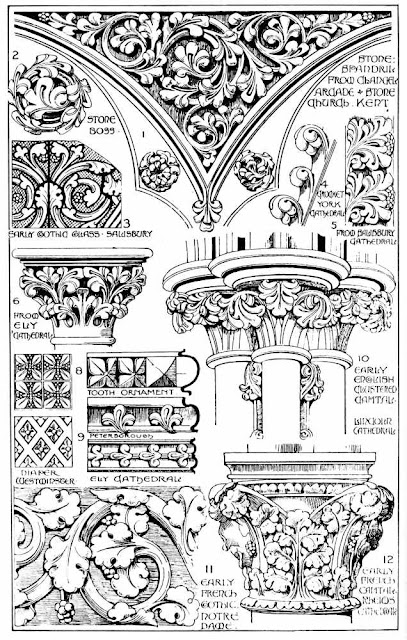 EARLY GOTHIC DETAILS