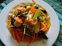 Cara Membuat I Fu Mie Siram Seafood