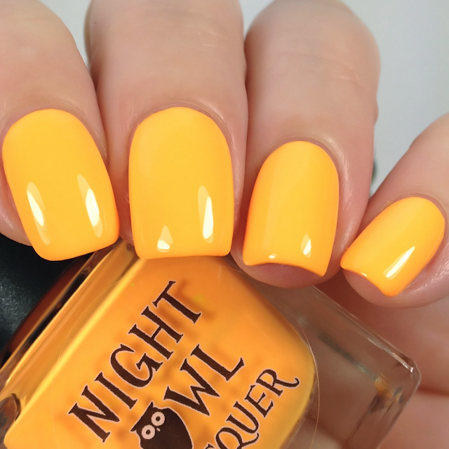 Night Owl Lacquer-Glowing, Glowing, Gone