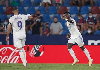 "Crónica Levante 3 Real Madrid 3: ""Vinicius Superheroe"""