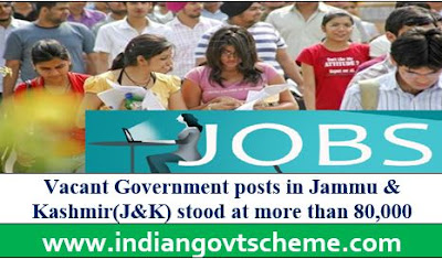 VACANT POSTS IN J&K