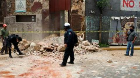 A 7.4 magnitude earthquake struck southern Mexico