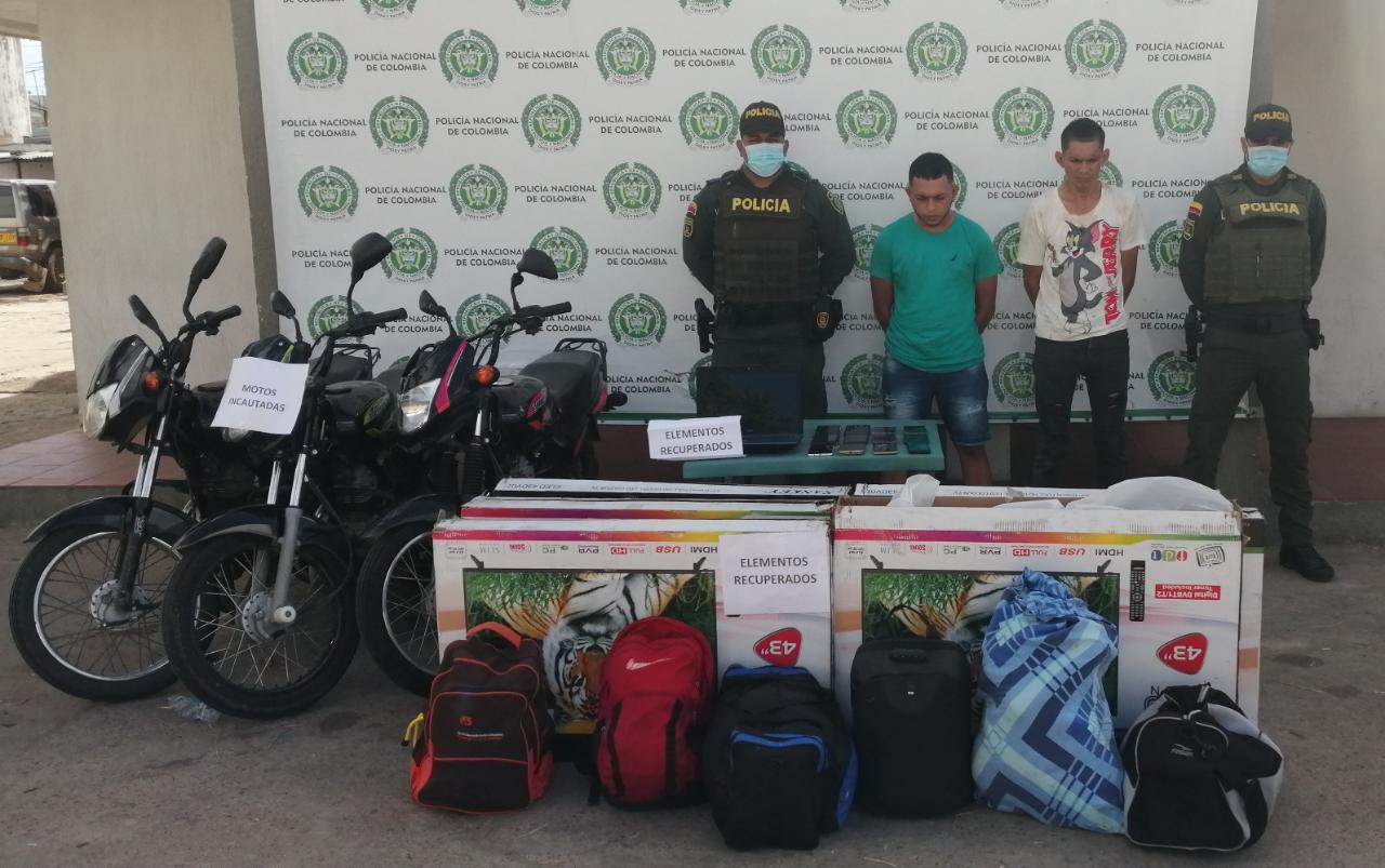 hoyennoticia.com, Recuperan robo a un hotel en Maicao