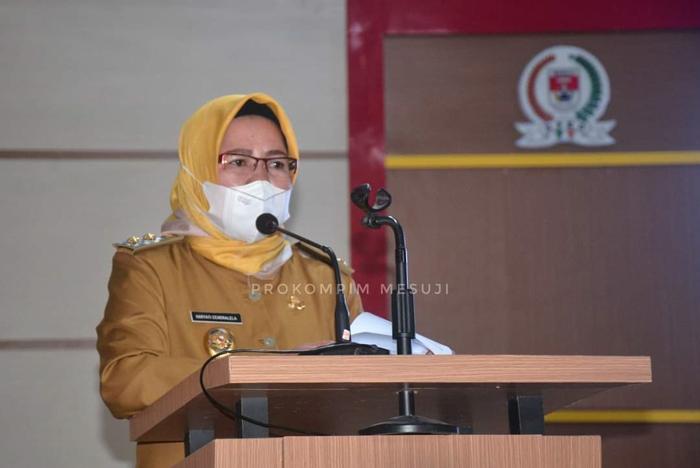 Terima Lima Raperda, DPRD Mesuji Segera Melakukan Pembahasan
