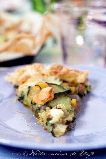 Nella cucina di Ely  Torta salata con peperoni e zucchine 9e9b1afcd4f3