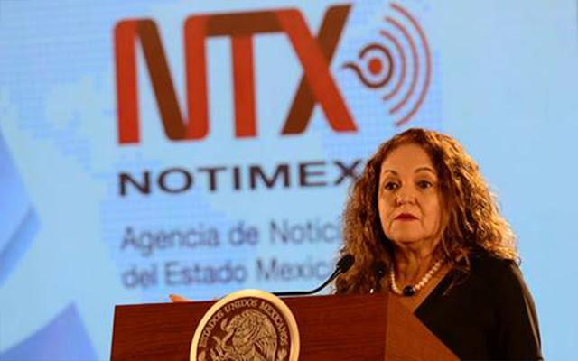 Sanjuana pide protección contra sindicato de Notimex, Artículo 19 y Aristegui Noticias