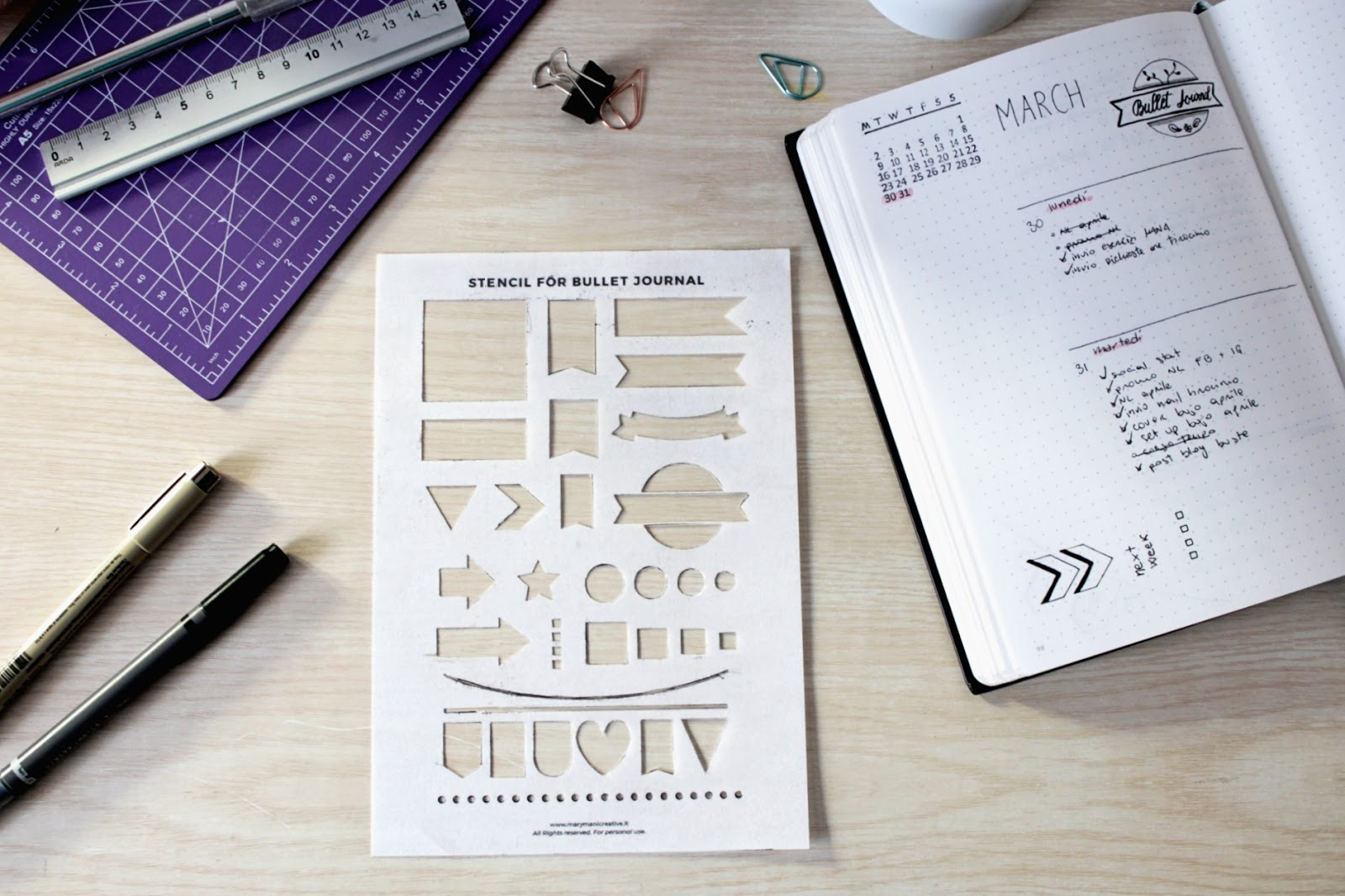 how-tomake-stencil-for-bullet-journal