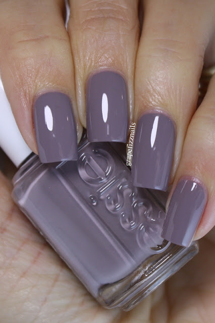 Essie Chinchilly swatch and review