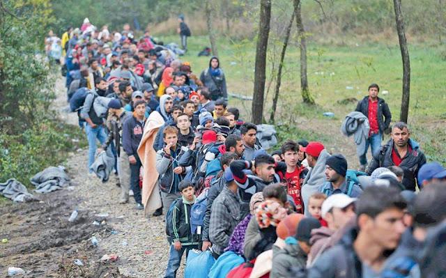 Ανησυχία για μαζικές αφίξεις Σύρων προσφύγων