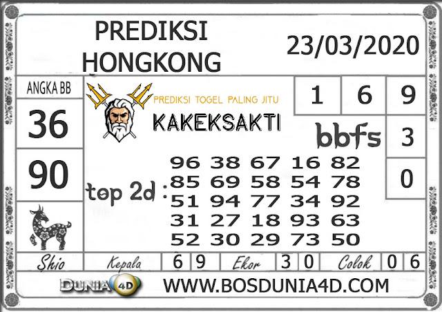 Prediksi Togel HONGKONG DUNIA4D 23 MARET 2020