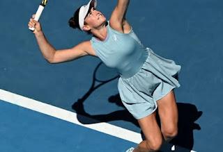 Jennifer Brady At The Australian Open In