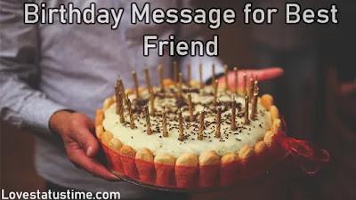 Birthday Message for Best Friend