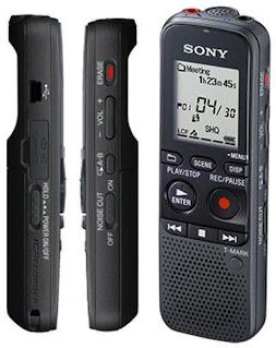 اشكال مسجلات الصوت الرقمية من سوني