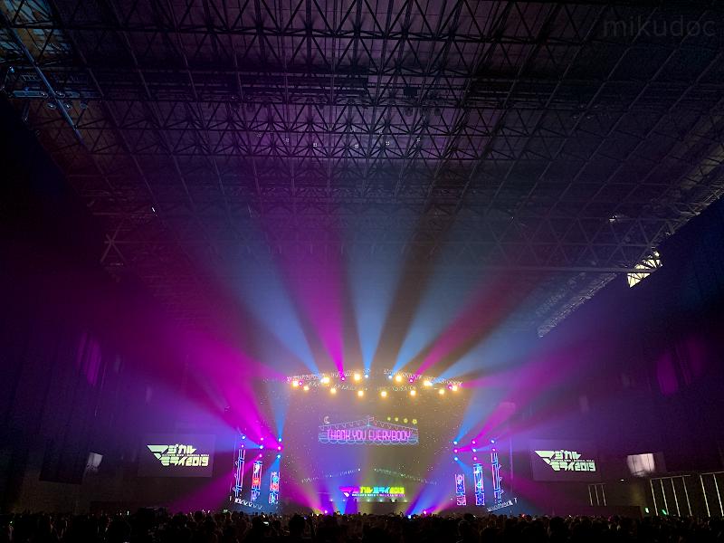 マジカルミライ2019ライブ会場