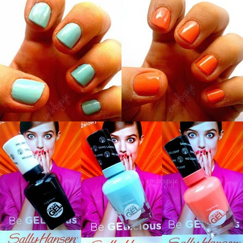 # 103 AMBASADORKA SALLY HANSEN MIRACLE GEL - TEST