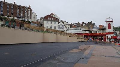 Site of the former Futurist Theatre in Scarborough