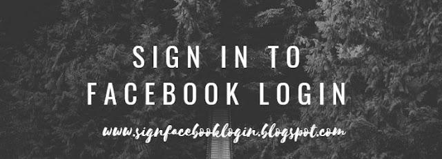 Sign In To Facebook Login