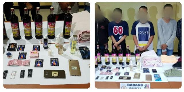 Polisi Tangkap 5 Pria Pesta Seks Sesama Jenis di Vila Cianjur, Ini Barang Buktinya