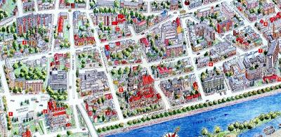 Карта города Пинска