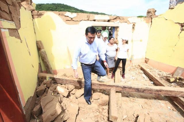 Damnificados no reciben ayuda porque no van por ella, quieren todo en su casa: Osorio Chong