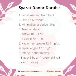 apa-saja-syarat-donor-darah