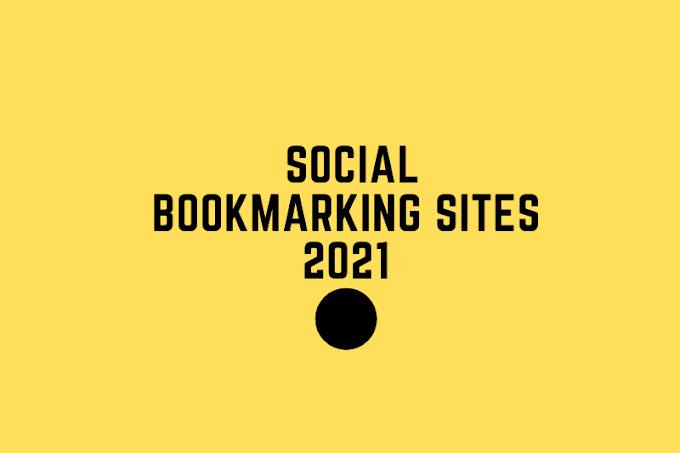 Do-Follow Bookmarking sites