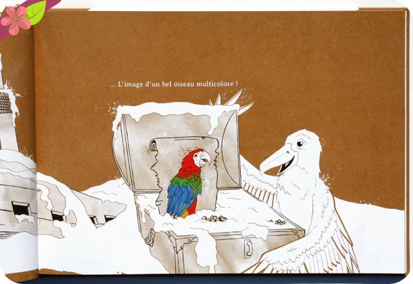 Le Gand oiseau Blanc de Aude Béliveau, LouP et Lucien - Touches d'encres éditions