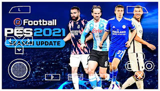 Download PES 2021 PPSSPP Chelito Best Graphics Minikits Camera PS4 Cursor & Update Transfer