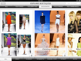 Boutiques iPad app released by Google 2