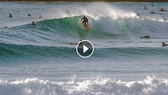 Surfing A Clean Gold Coast Dawn Session 21st October 2020