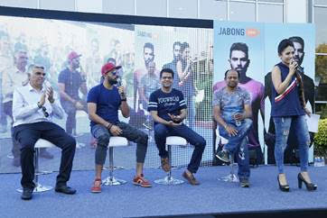 Yuvraj Singh unveiled the YWC /You We Can Ventures collection on Jabong