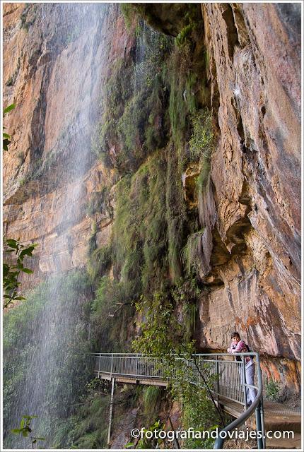 National Pass en las Montañas Azules