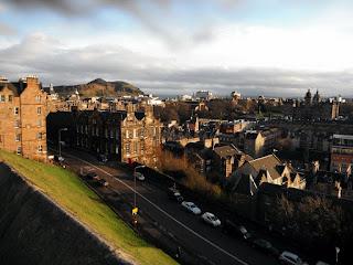 Vistas de el castillo de Edimburgo