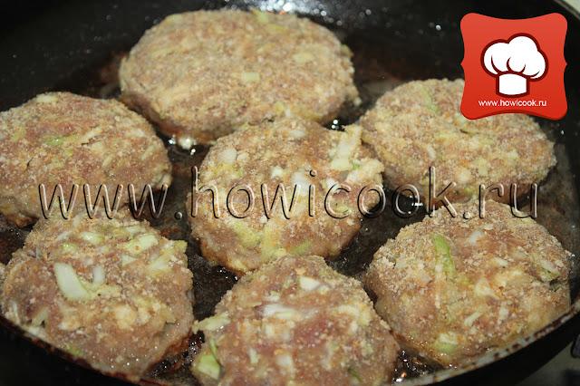Мясные котлеты с капустой рецепт пошаговые фото