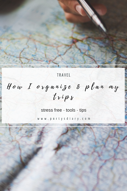 Travel | How I organize and plan my trips. Stress free process, Travel planning tools and tips.