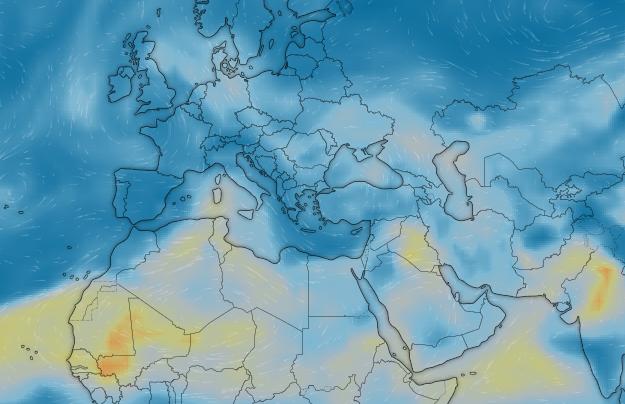 Windy: Ίσως ο ομορφότερος δωρεάν online μετεωρολογικός χάρτης