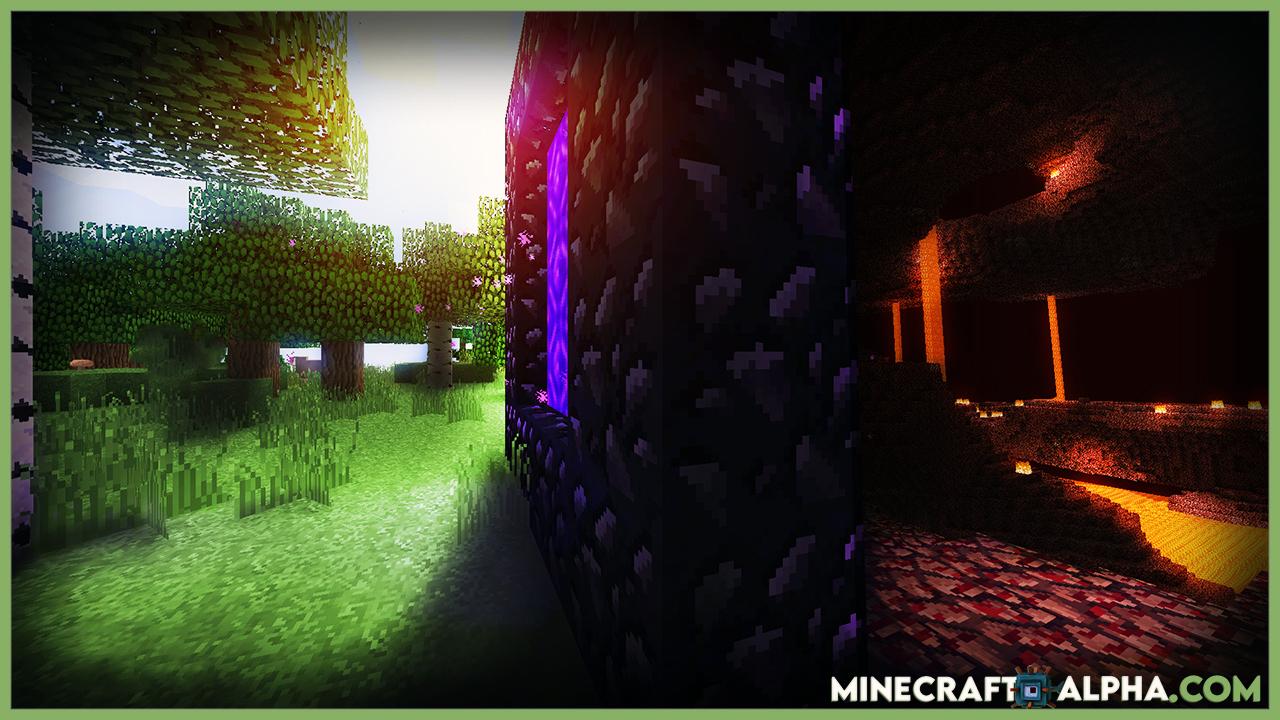 Minecraft Alpha Optifine 1.17.2 Mod