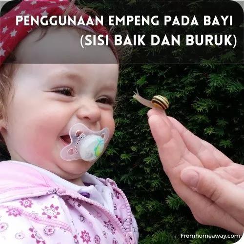 Penggunaan Empeng Pada Bayi