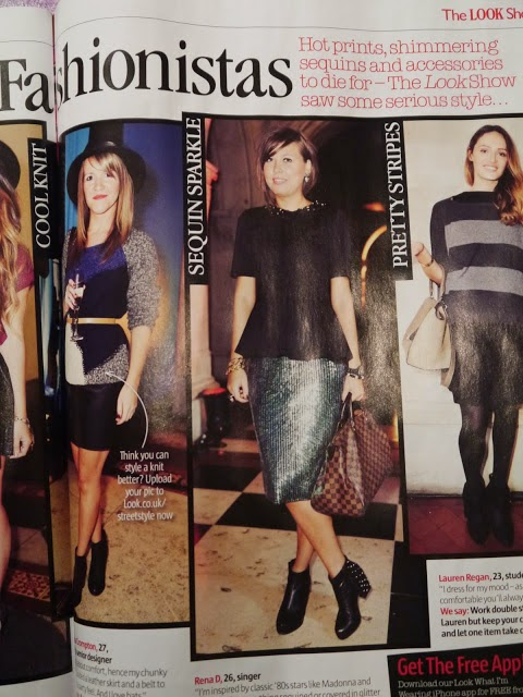 TOP DRESSED FASHIONISTAS IN LOOK MAGAZOINE