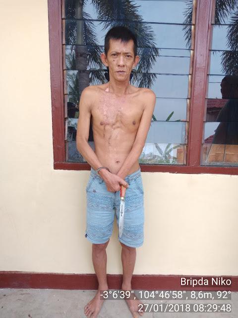 Polsek Pemulutan Ringkus Gembong Pencuri Matrial TOL