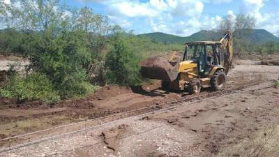 Rehabilitan el 75% de caminos dañados