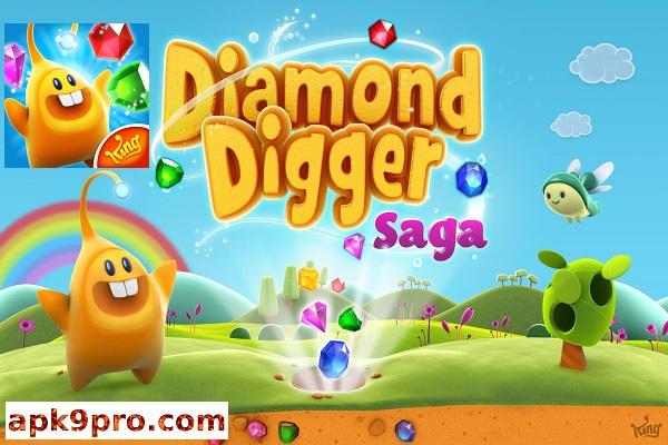 Diamond Digger Saga v2.61.0 Apk + Mod (File size 71 MB) for Android