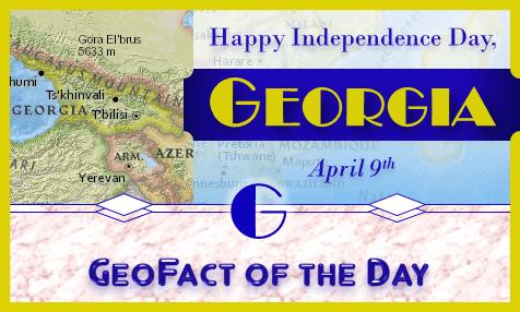Happy Independence Day, Georgia!