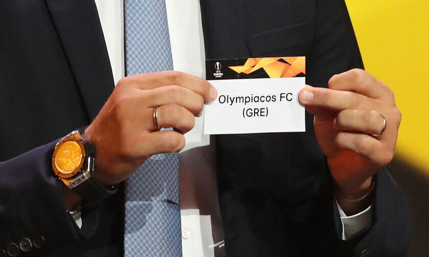 Europa League - Κλήρωση: Ξανά με Άρσεναλ ο Ολυμπιακός!